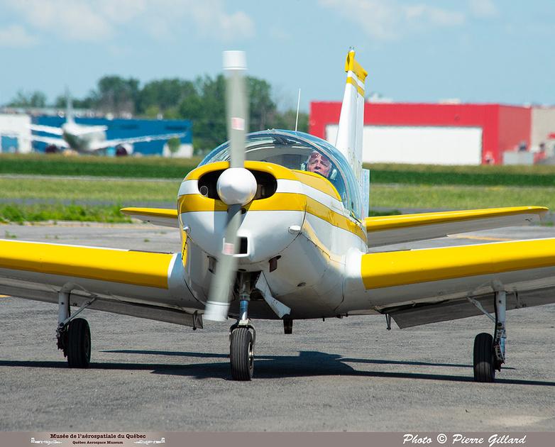 Pierre GILLARD: 2021-07-10 - Dernier vol et arrivée à Saint-Hubert &emdash; 2021-626697
