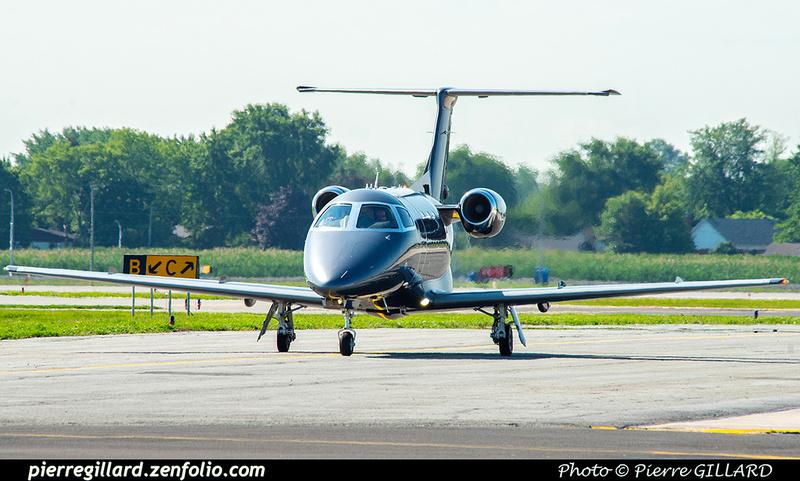 Pierre GILLARD: 2021-07-23 - Un Embraer Phenom 100EV au Terminal Lux &emdash; 2021-626776