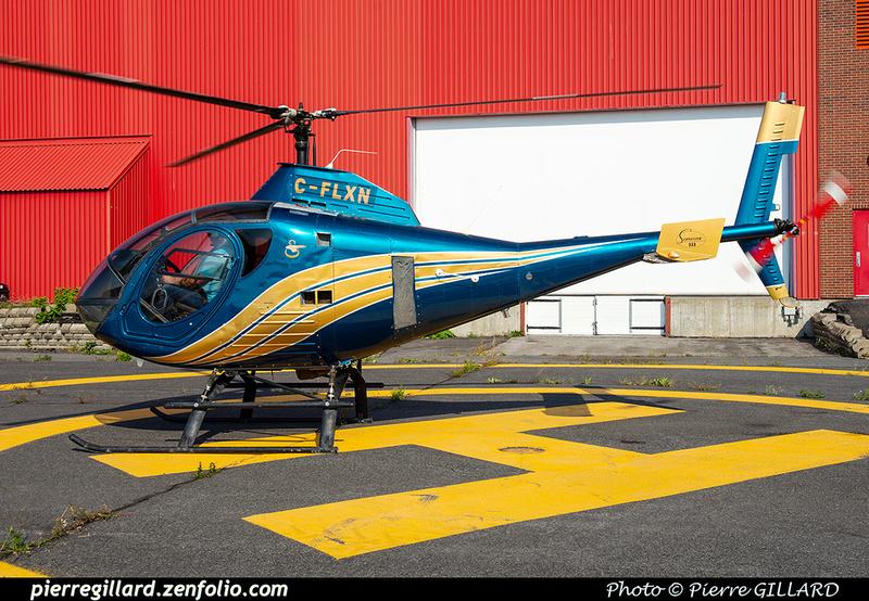 Pierre GILLARD: Canada - Hélicoptères privés - Private Helicopters &emdash; 2021-430460