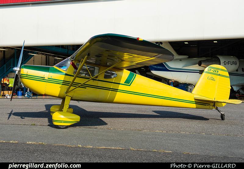 Pierre GILLARD: Private Aircraft - Avions privés : Canada &emdash; 2021-430424