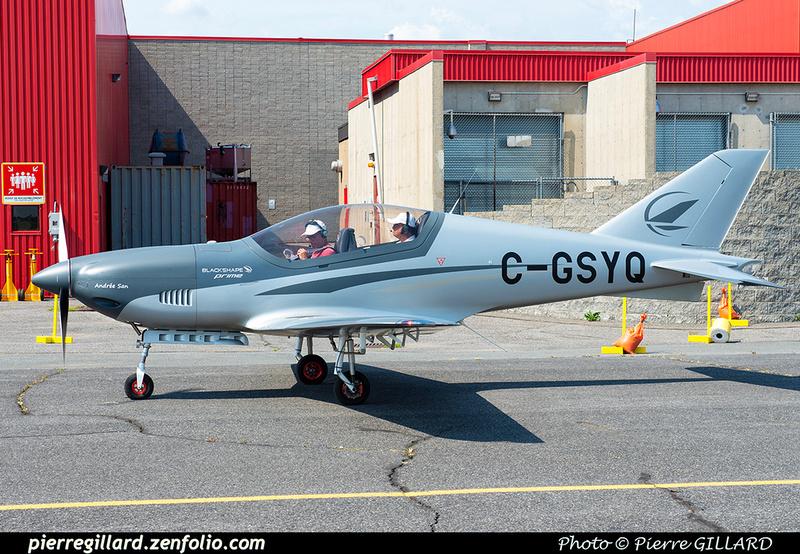 Pierre GILLARD: Private Aircraft - Avions privés : Canada &emdash; 2021-430393