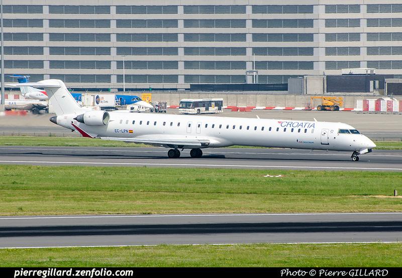 Pierre GILLARD: Croatia Airlines &emdash; 2018-709357