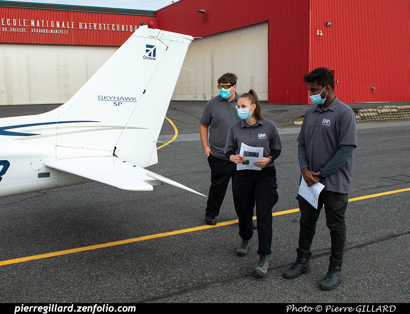 Pierre GILLARD: 2021-09-07, 13 & 20 - Vols d'initiation à l'avionique à l'ÉNA &emdash; 2021-430685