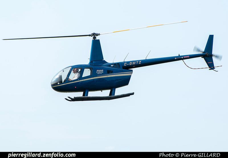 Pierre GILLARD: Canada - Hélicoptères privés - Private Helicopters &emdash; 2021-902053