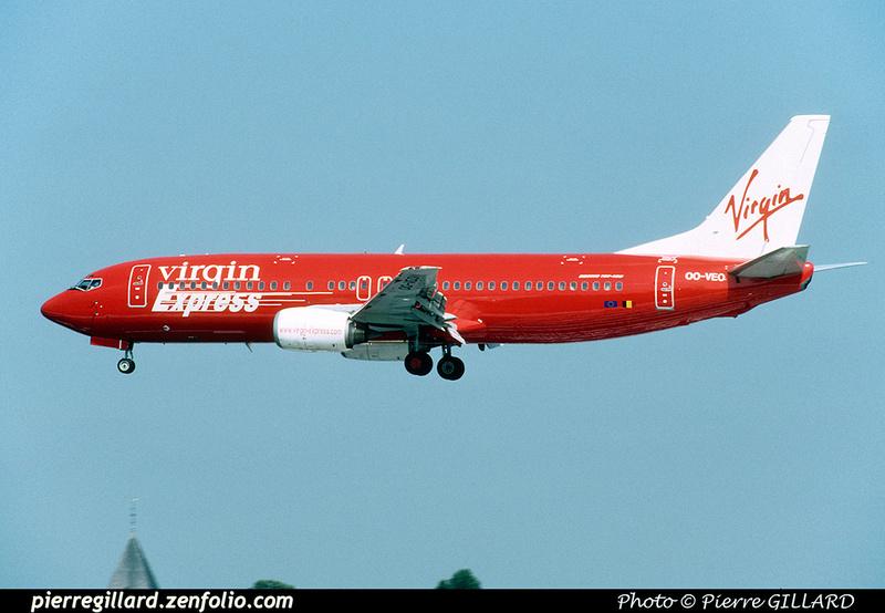 Pierre GILLARD: Virgin Express &emdash; 046625