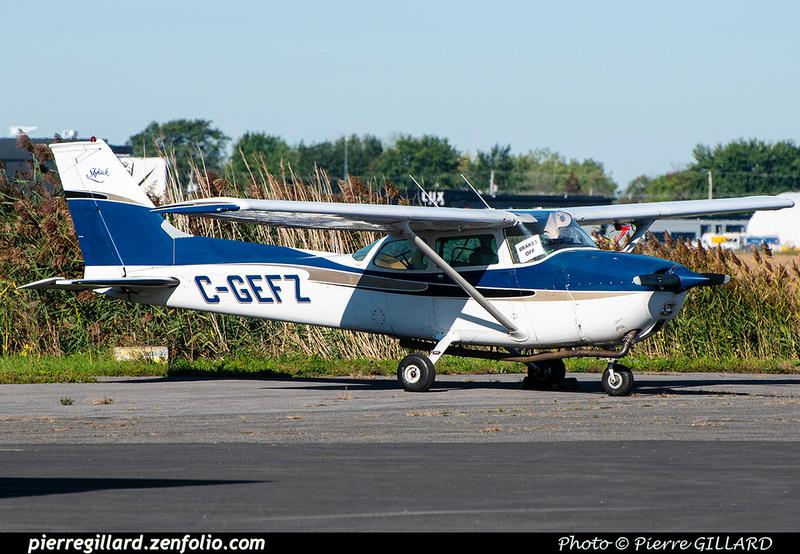 Pierre GILLARD: Private Aircraft - Avions privés : Canada &emdash; 2021-902237
