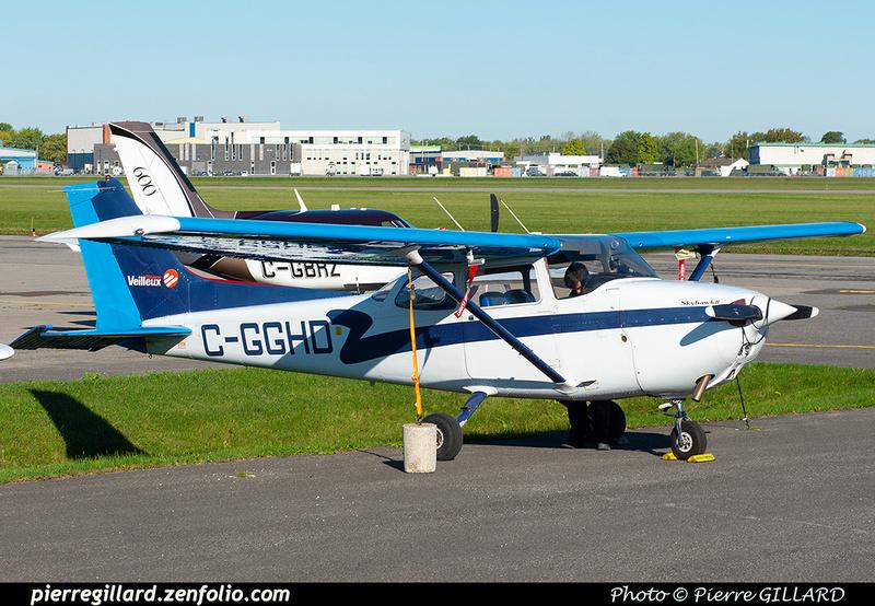 Pierre GILLARD: Private Aircraft - Avions privés : Canada &emdash; 2021-430837
