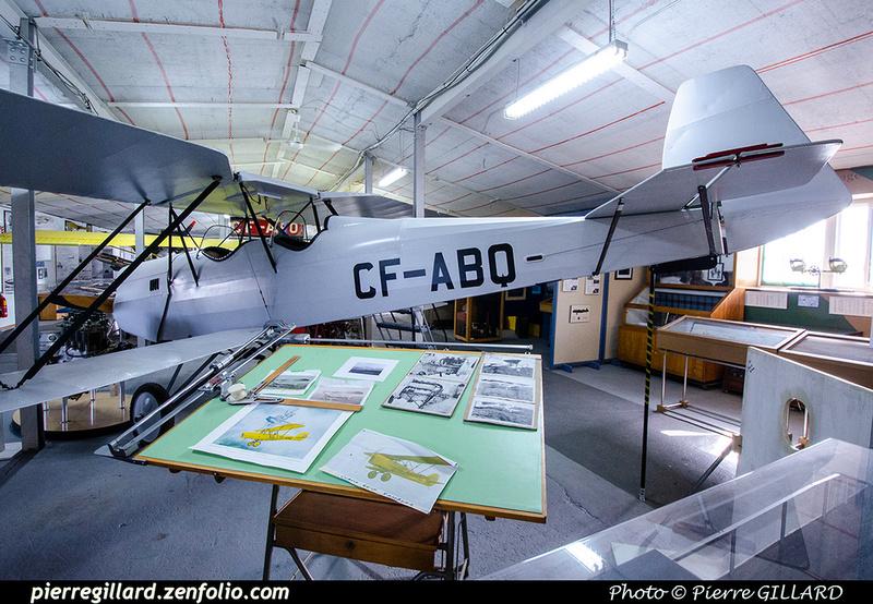 Pierre GILLARD: Canada : Musée de l'aviation de Montréal - Montreal Aviation Museum &emdash; 2021-715053