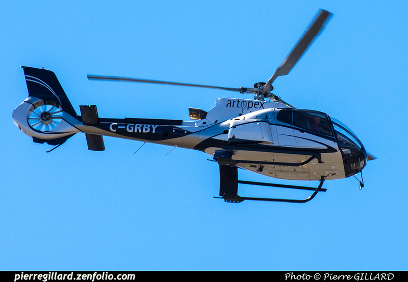 Pierre GILLARD: Canada - Hélicoptères privés - Private Helicopters &emdash; 2019-800633