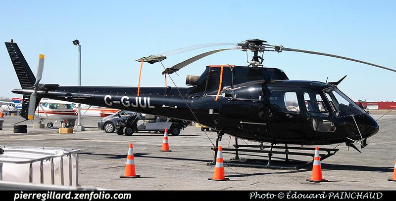 Pierre GILLARD: Canada - Hélicoptères privés - Private Helicopters &emdash; 030442