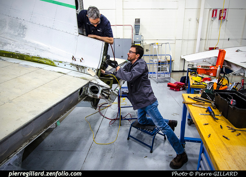Pierre GILLARD: 2019-04-06 au 2019-06-06 (?) - Plane Savers - Restauration du DC-3 C-FDTD &emdash; 2019-711892