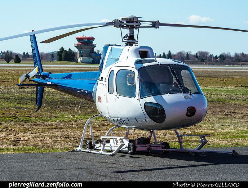 Pierre GILLARD: Eurocopter AS350D AStar C-GVYL &emdash; 2019-424249