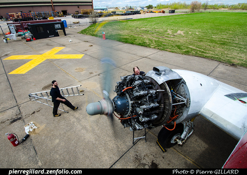 Pierre GILLARD: 2019-04-06 au 2019-06-06 (?) - Plane Savers - Restauration du DC-3 C-FDTD &emdash; 2019-711926