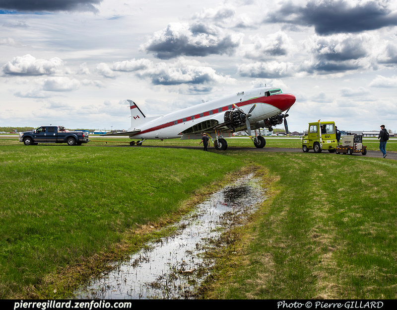 Pierre GILLARD: 2019-04-06 au 2019-06-06 (?) - Plane Savers - Restauration du DC-3 C-FDTD &emdash; 2019-621433