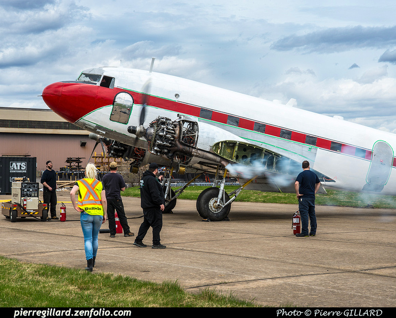 Pierre GILLARD: 2019-04-06 au 2019-06-06 (?) - Plane Savers - Restauration du DC-3 C-FDTD &emdash; 2019-621481