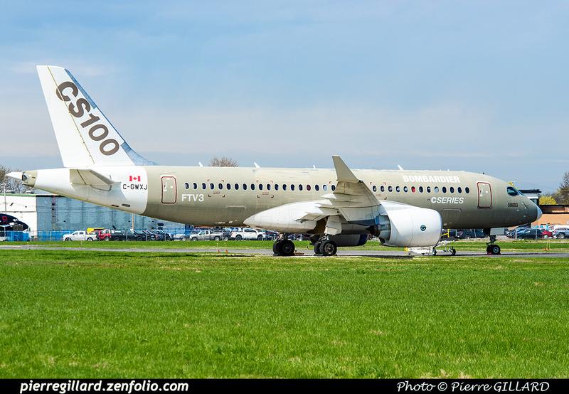 Pierre GILLARD: Bombardier CSeries CS100 C-GWXJ &emdash; 2019-424286