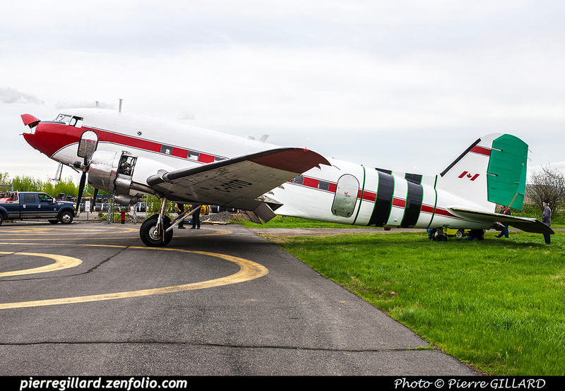 Pierre GILLARD: 2019-04-06 au 2019-06-06 (?) - Plane Savers - Restauration du DC-3 C-FDTD &emdash; 2019-621848
