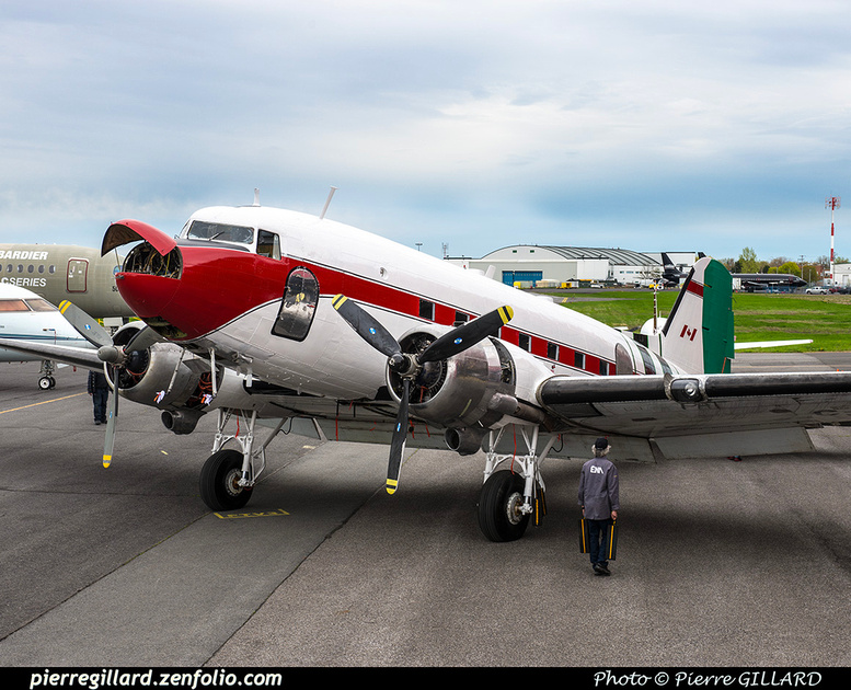 Pierre GILLARD: 2019-04-06 au 2019-06-06 (?) - Plane Savers - Restauration du DC-3 C-FDTD &emdash; 2019-621868