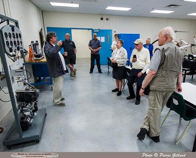 Pierre GILLARD: 2019-05-25 - Le MAQ, l'ÉNA et l'Escadron 438 reçoivent le CAHS &emdash; 2019-712166