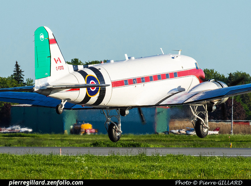 Pierre GILLARD: 2019-04-06 au 2019-06-06 - Plane Savers - Restauration du DC-3 C-FDTD &emdash; 2019-801814