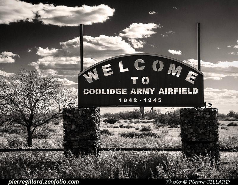 Pierre GILLARD: U.S.A. : P08 - Coolidge Municipal Airport, AZ &emdash; 2019-528779