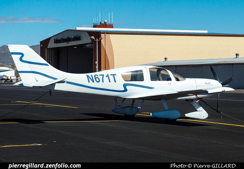 Pierre GILLARD: Private Aircraft - Avions privés : U.S.A. &emdash; 2019-529280