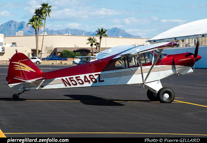 Pierre GILLARD: Private Aircraft - Avions privés : U.S.A. &emdash; 2019-529277