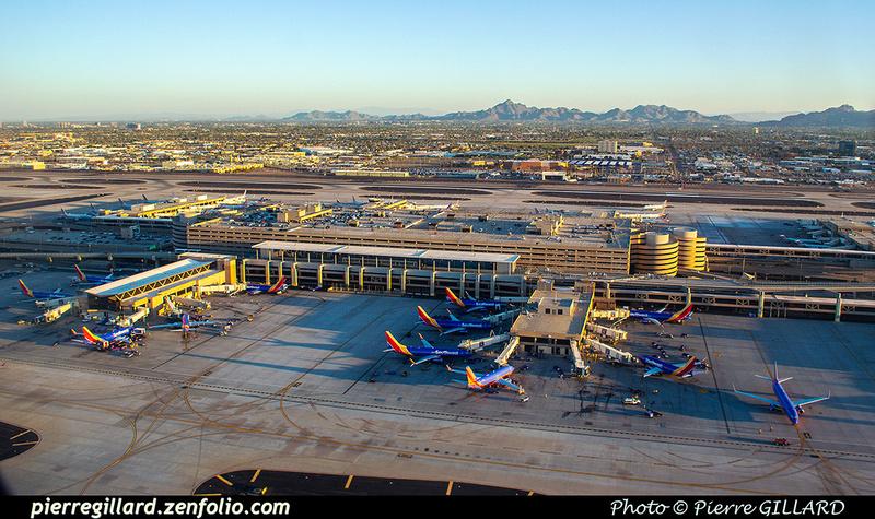 Pierre GILLARD: U.S.A. : KPHX - Phoenix Sky Harbor International Airport, AZ &emdash; 2019-529753