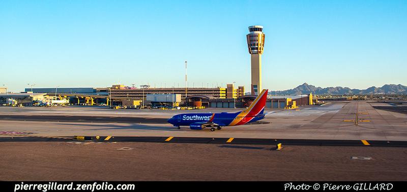 Pierre GILLARD: U.S.A. : KPHX - Phoenix Sky Harbor International Airport, AZ &emdash; 2019-529749