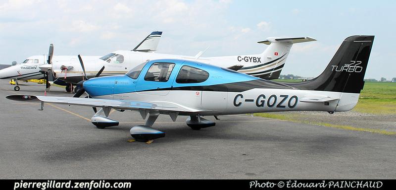 Pierre GILLARD: Private Aircraft - Avions privés : Canada &emdash; 030485