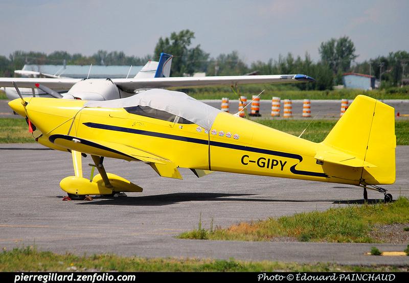 Pierre GILLARD: Private Aircraft - Avions privés : Canada &emdash; 030486