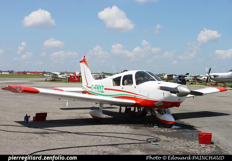 Pierre GILLARD: Private Aircraft - Avions privés : Canada &emdash; 030482