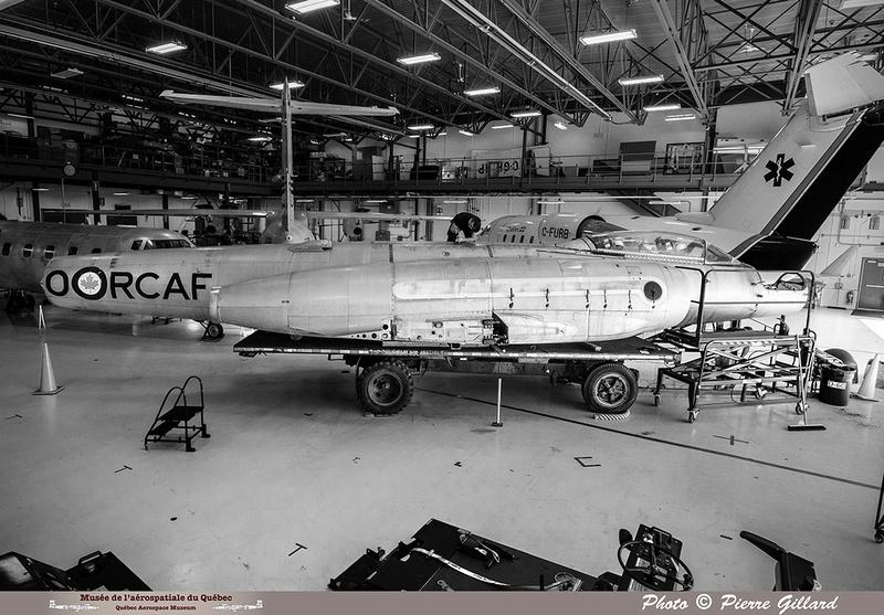 Pierre GILLARD: 2019-08-02 au 08-05 - Évaluation du fuselage du CF-100 à l'ÉNA &emdash; 2019-712903