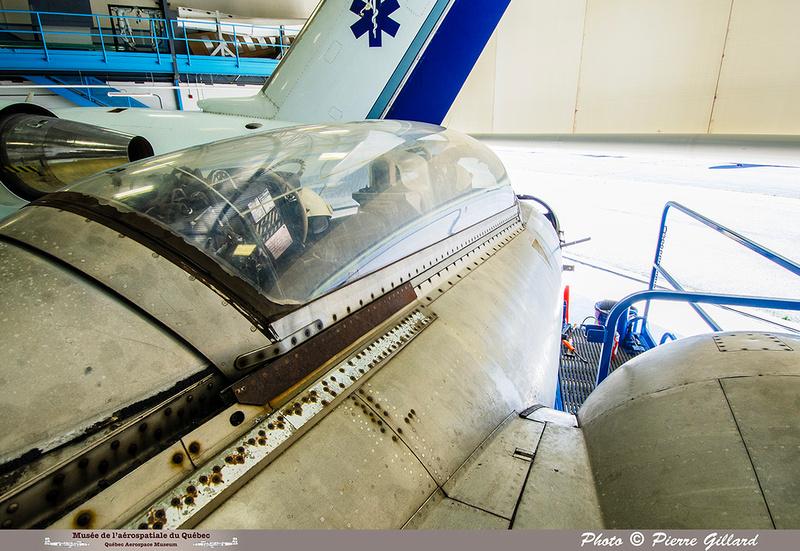 Pierre GILLARD: 2019-08-02 au 08-05 - Évaluation du fuselage du CF-100 à l'ÉNA &emdash; 2019-712919