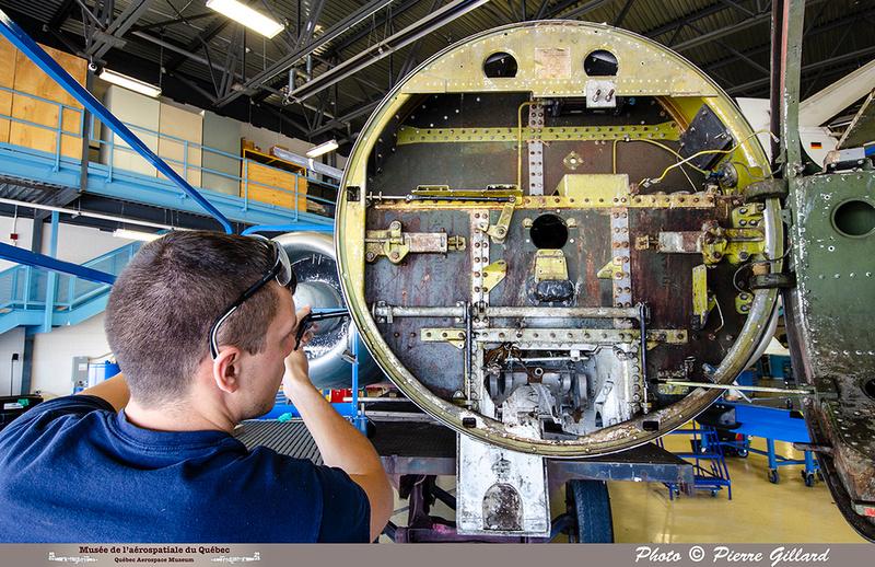 Pierre GILLARD: 2019-08-02 au 08-05 - Évaluation du fuselage du CF-100 à l'ÉNA &emdash; 2019-712946