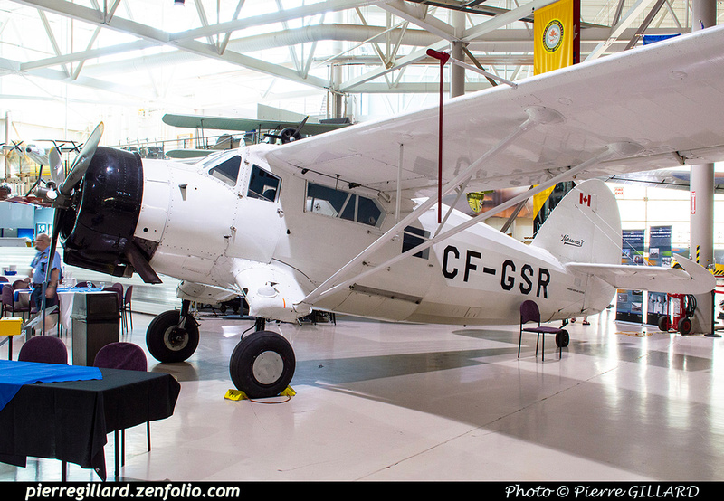 Pierre GILLARD: Canada : Canadian Warplane Heritage Museum &emdash; 2019-530284