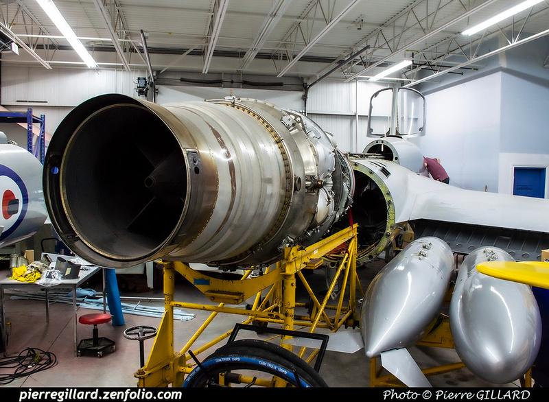 Pierre GILLARD: Canada : Jet Aircraft Museum &emdash; 2019-530391