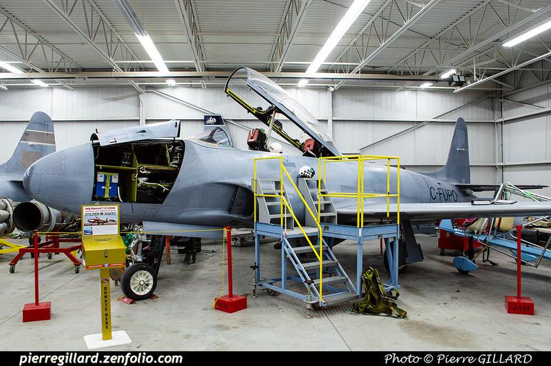Pierre GILLARD: Canada : Jet Aircraft Museum &emdash; 2019-530387