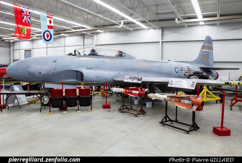 Pierre GILLARD: Canada : Jet Aircraft Museum &emdash; 2019-530393