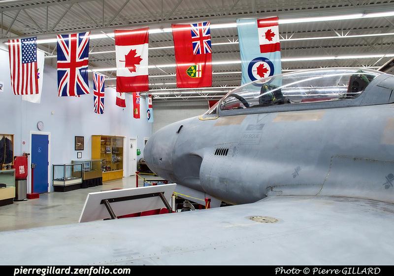 Pierre GILLARD: Canada : Jet Aircraft Museum &emdash; 2019-530399