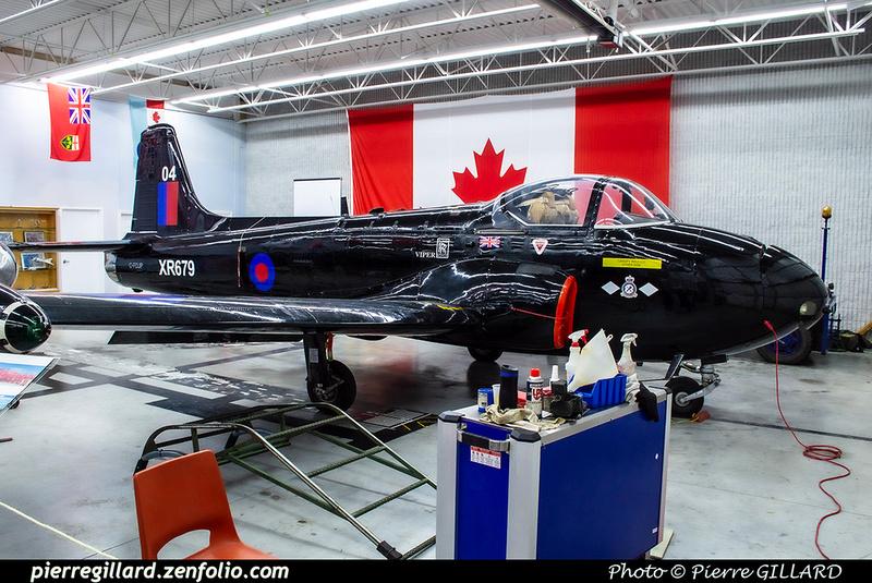 Pierre GILLARD: Canada : Jet Aircraft Museum &emdash; 2019-530410