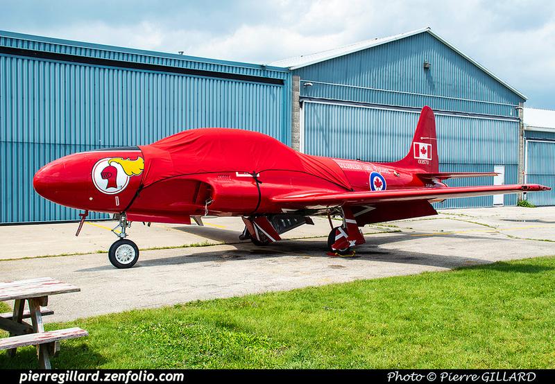 Pierre GILLARD: Canada : Jet Aircraft Museum &emdash; 2019-530414