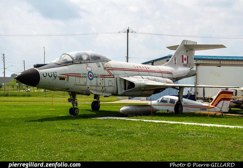 Pierre GILLARD: Canada : Jet Aircraft Museum &emdash; 2019-530441