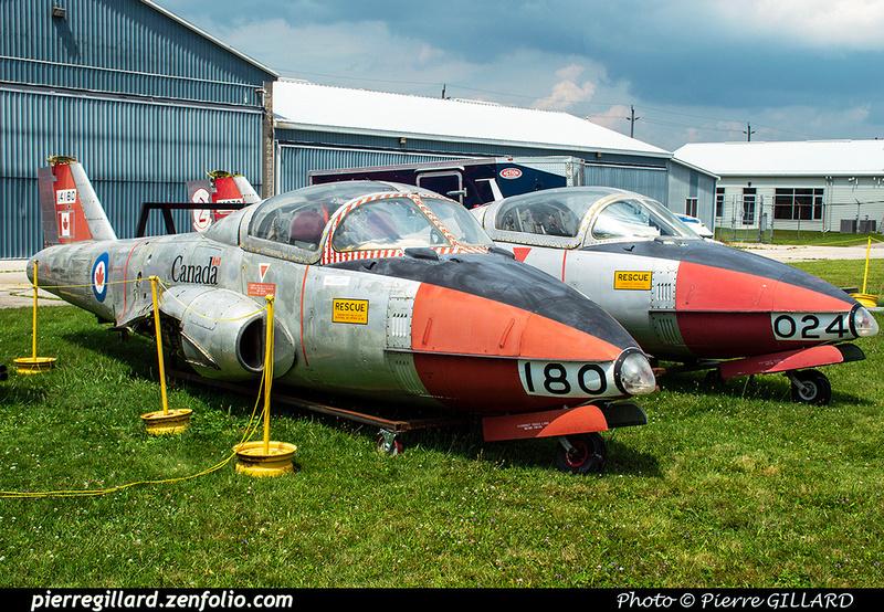 Pierre GILLARD: Canada : Jet Aircraft Museum &emdash; 2019-530417