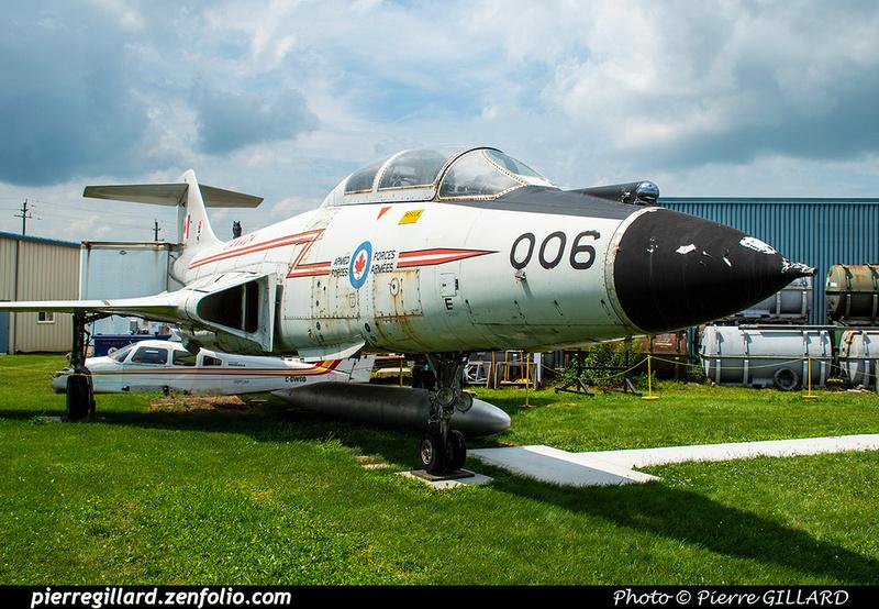Pierre GILLARD: Canada : Jet Aircraft Museum &emdash; 2019-530429