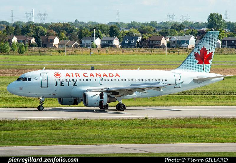 Pierre GILLARD: JetZ (Air Canada) &emdash; 2019-425747