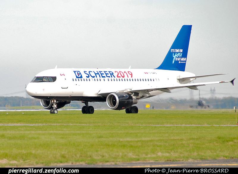 Pierre GILLARD: Air Canada &emdash; 2019-JPB-4473