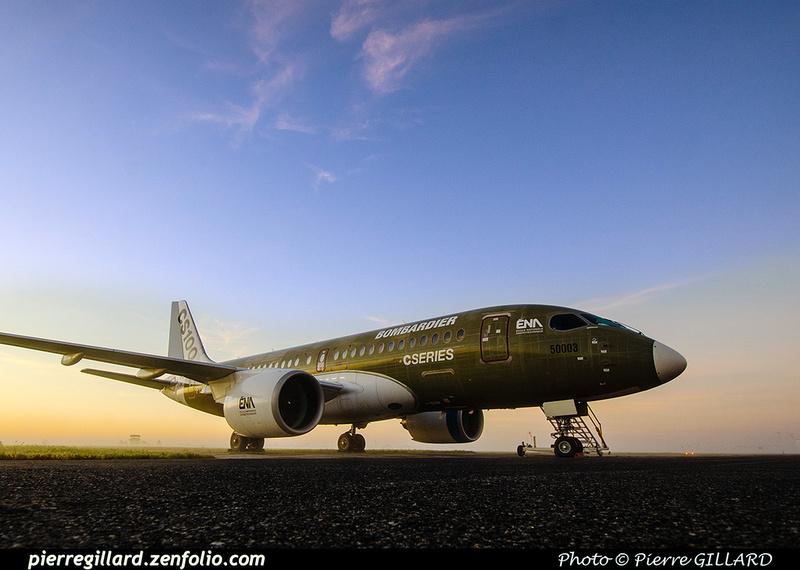 Pierre GILLARD: Bombardier CSeries CS100 C-GWXJ &emdash; 2019-713316