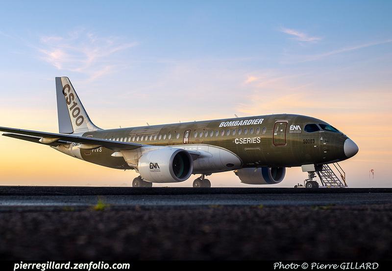 Pierre GILLARD: Bombardier CSeries CS100 C-GWXJ &emdash; 2019-623356