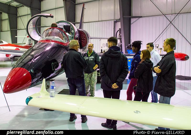 Pierre GILLARD: 2019-10-14 au 18 - Virée aéronautique en Ontario &emdash; 2019-531775
